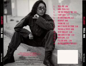 Back Cover Album Kleo - Tell Me