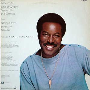 Back Cover Album Wilson Pickett - I Want You