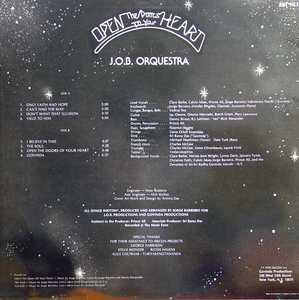 Back Cover Album J.o.b. Orquestra - Open The Doors To Your Heart