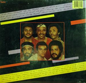 Back Cover Album The Isley Brothers - Grand Slam