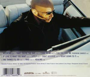 Back Cover Album Kenny Lattimore - Weekend