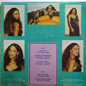 Back Cover Album Donna Mcghee - Make It Last Forever