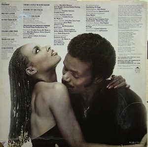 Back Cover Album Peaches & Herb - Sayin' Something!