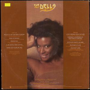 Back Cover Album The Dells - We Got To Get Our Thing Together
