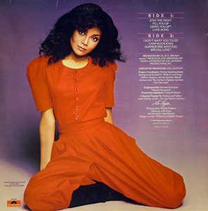 Back Cover Album La Toya Jackson - My Special Love