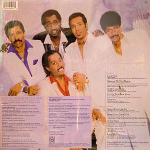 Back Cover Album The Temptations - To Be Continued