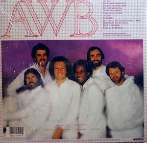 Back Cover Album Average White Band - Cupid's In Fashion