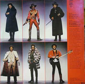 Back Cover Album The Isley Brothers - Go All The Way