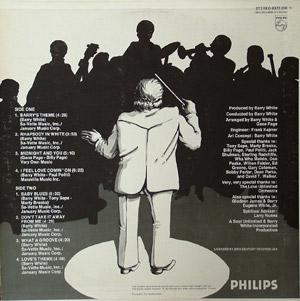 Back Cover Album The Love Unlimited Orchestra - Rhapsody In White