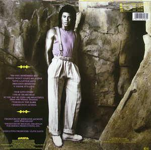 Back Cover Album Jermaine Jackson - Precious Moments