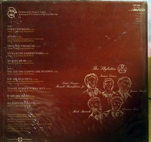 Back Cover Album The Stylistics - You Are Beautiful