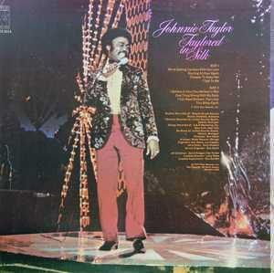 Back Cover Album Johnnie Taylor - Taylored In Silk