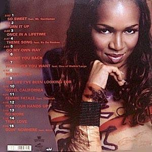 Back Cover Album Brooke Russell - The Life I've Been Looking For