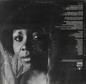 Back Cover Album Ms (sharon) Ridley - Stay A While With Me