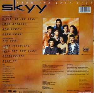 Back Cover Album Skyy - From The Left Side