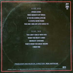 Back Cover Album Lou Rawls - When The Night Comes