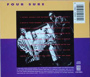 Back Cover Album Four Sure - We Can Swing It