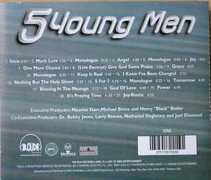 Back Cover Album 5 Young Man - 5 For 1