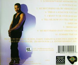Back Cover Album Aneel - Love Don't Hurt Anymore