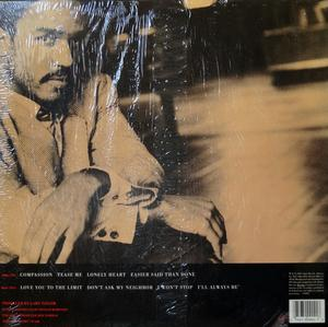 Back Cover Album Gary Taylor - Compassion  | virgin records | 1-90902 | US