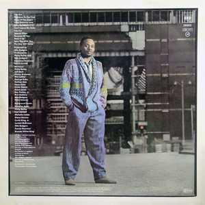 Back Cover Album Philip Bailey - Inside Out