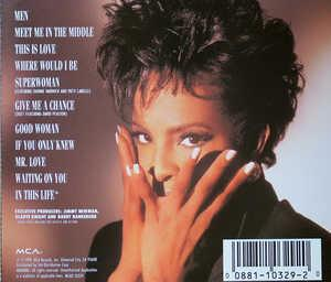 Back Cover Album Gladys Knight - Good Woman