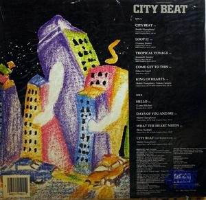 Back Cover Album Bobbi Humphrey - City Beat