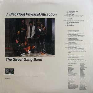 Back Cover Album J Blackfoot - Physical Attraction