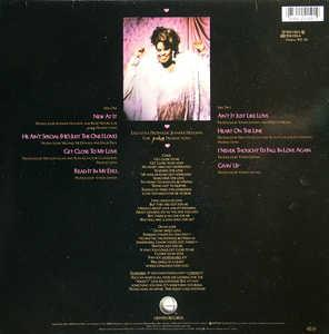 Back Cover Album Jennifer Holliday - Get Close To My Love