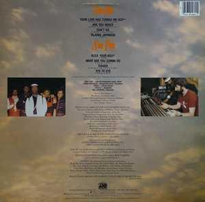 Back Cover Album Jakky Boy & The Bad Bunch - Jakky Boy & The Bad Bunch