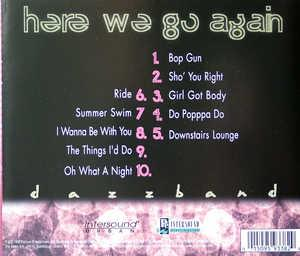 Back Cover Album The Dazz Band - Here We Go Again