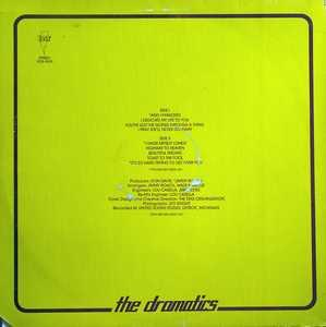Back Cover Album The Dramatics - Dramatically Yours