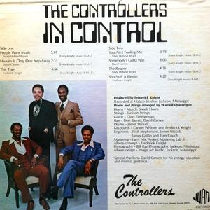Back Cover Album The Controllers - In Control