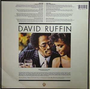 Back Cover Album David Ruffin - Gentleman Ruffin