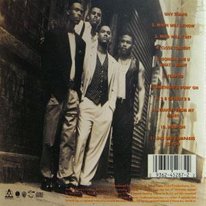 Back Cover Album Universal Nubian Voices - Something's Goin' On