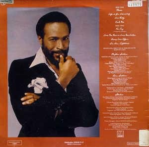 Back Cover Album Marvin Gaye - In Our Lifetime