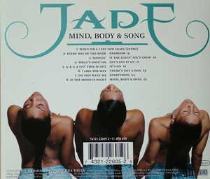 Back Cover Album Jade - MIND, BODY & SONG