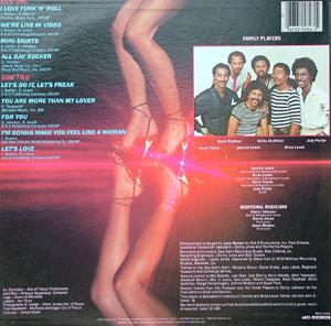Back Cover Album Family Players - I Love Funk 'N' Roll