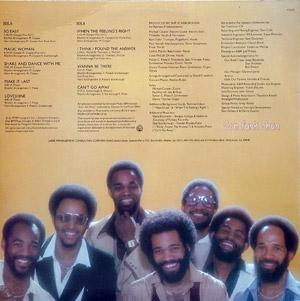 Back Cover Album Con Funk Shun - Loveshine