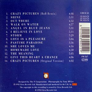 Back Cover Album Ray Simpson - Ray