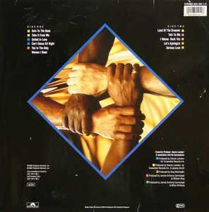 Back Cover Album Commodores - United