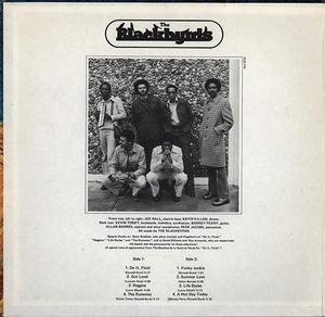 Back Cover Album The Blackbyrds - The Blackbyrds