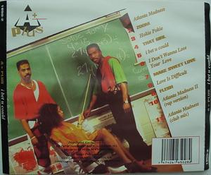 Back Cover Album A Plus - I Bet U Could