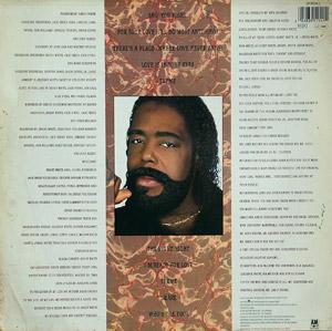 Back Cover Album Barry White - The Right Night And Barry White