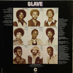 Back Cover Album Slave - Slave