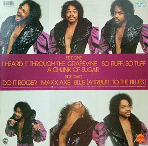 Back Cover Album Roger Troutman - The Many Facets Of