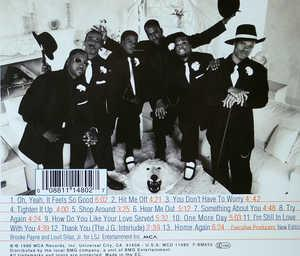 Back Cover Album New Edition - Home Again