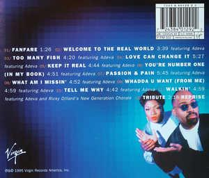 Back Cover Album Frankie Knuckles - Welcome To The Real World