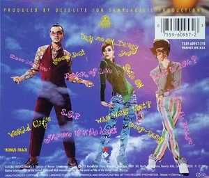 Back Cover Album Deee-lite - World Clique