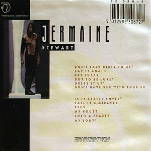 Back Cover Album Jermaine Stewart - Say It Again